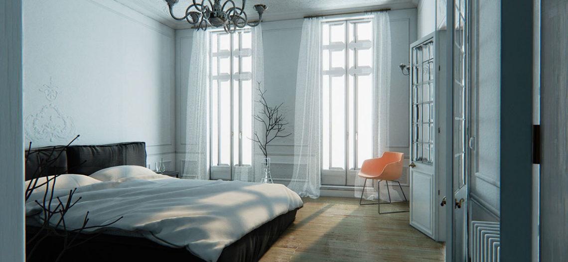 12 bước thiết kế nội thất phòng ngủ đẹp như ý