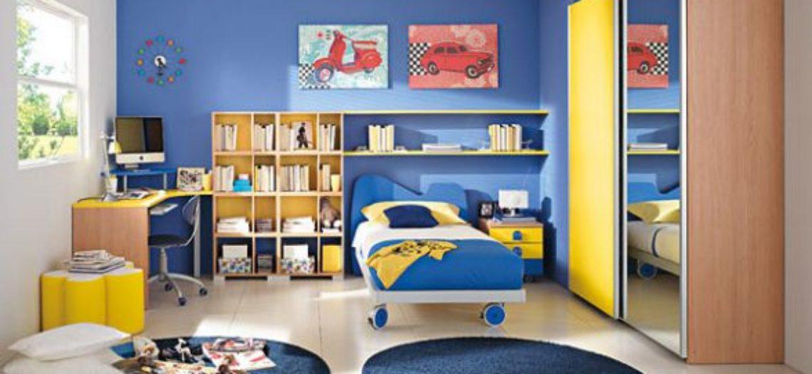 15 Mẫu phòng ngủ đẹp cho bé trai
