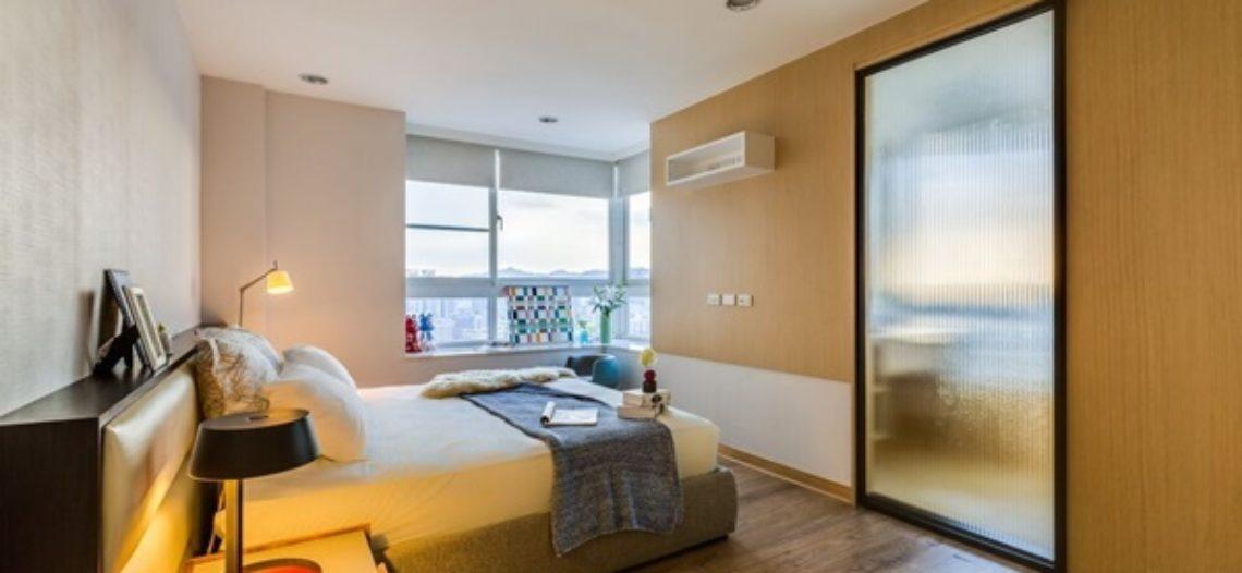Bài trí nội thất đẹp khéo léo cho chung cư 60m2 cực tiện nghi