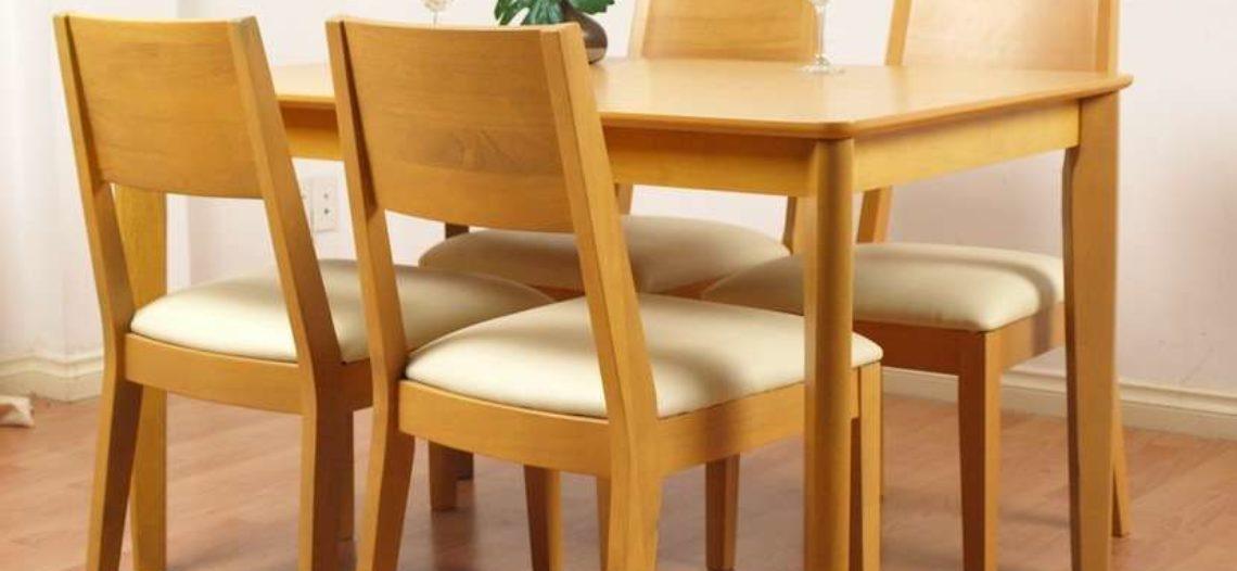 Các mẫu bộ bàn ăn 4 ghế được ưa chuộng nhất hiện nay