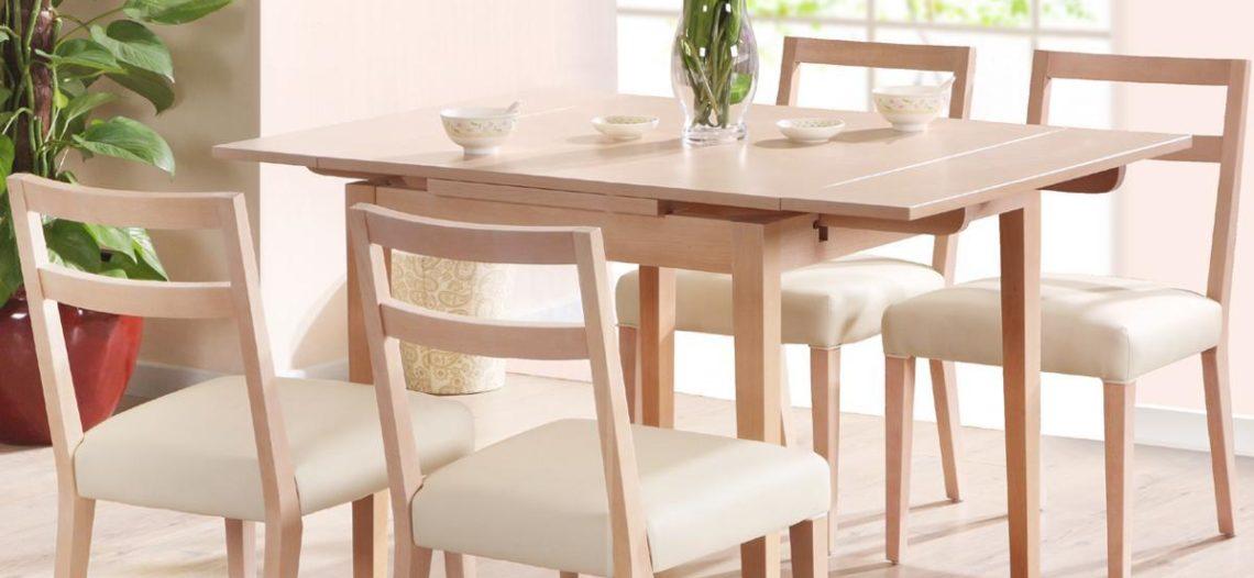Kinh nghiệm chọn mua bàn ăn gỗ cho gia đình