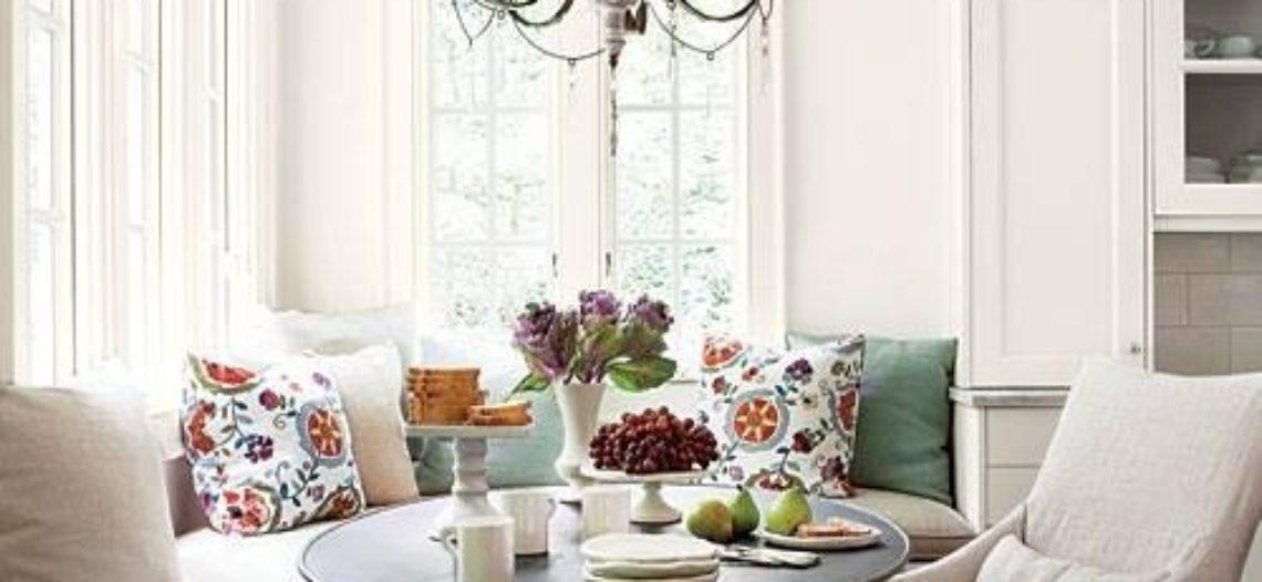 Tiết kiệm diện tích với bàn ăn tròn