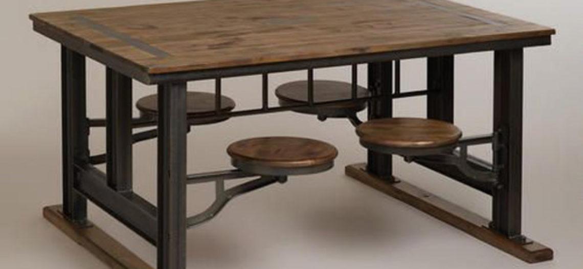 Bàn ăn không chân ghế- Sự tiện nghi đến từ phong cách