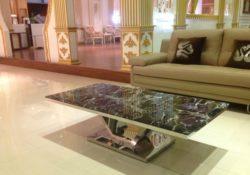 Các loại chất liệu bàn trà sofa cho phòng khách