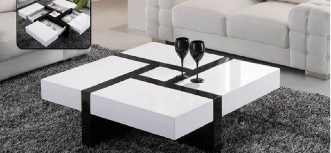 Làm mới không gian phòng khách với các mẫu bàn trà đẹp