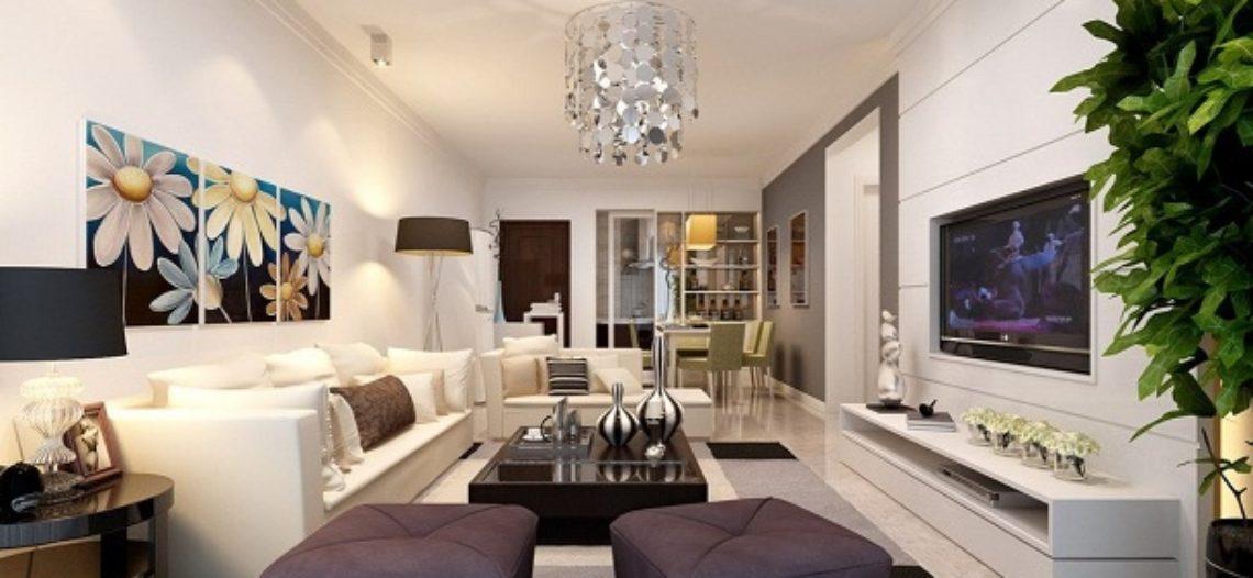 Bí quyết thiết kế phòng khách đẹp cho nhà ống