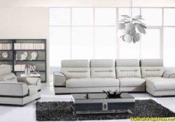 Cách chọn Sofa da phòng khách sang trọng