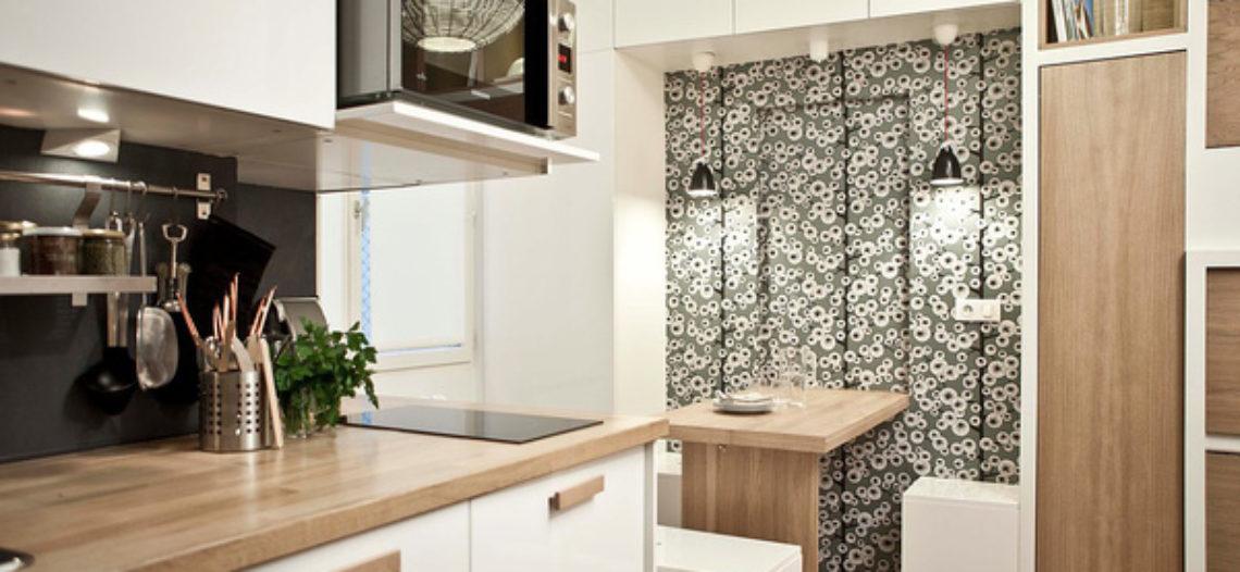 Căn hộ 17m² siêu tiện nghi nhờ nội thất thông minh trong từng góc nhỏ