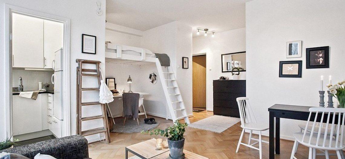 Giường gác xép – giải pháp tối ưu diện tích cho ngôi nhà nhỏ