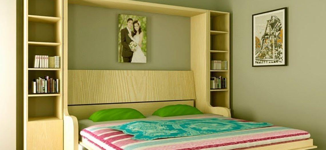 Giường gấp đa năng- nội thất thông minh tiết kiệm không gian cho mọi nhà