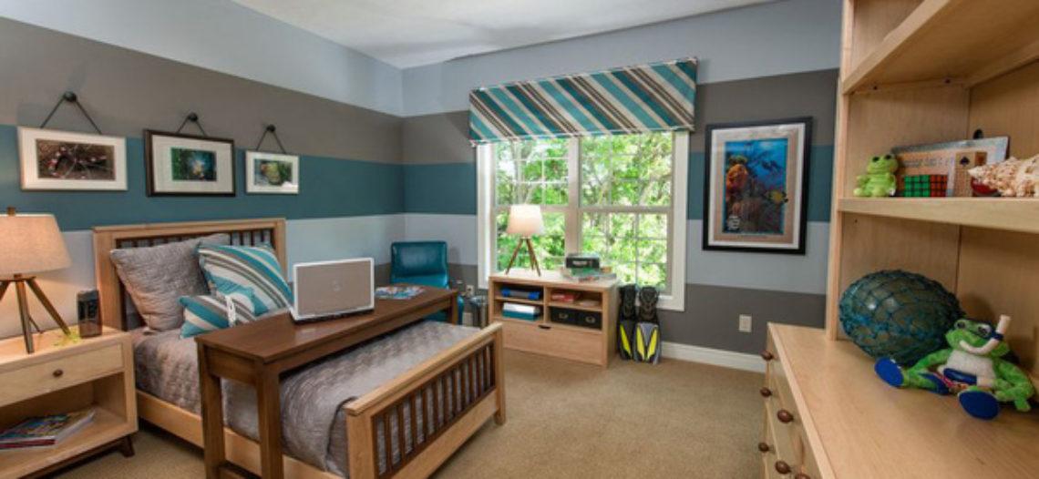 Thiết kế thông minh giường ngủ kết hợp bàn làm việc cho căn phòng nhỏ