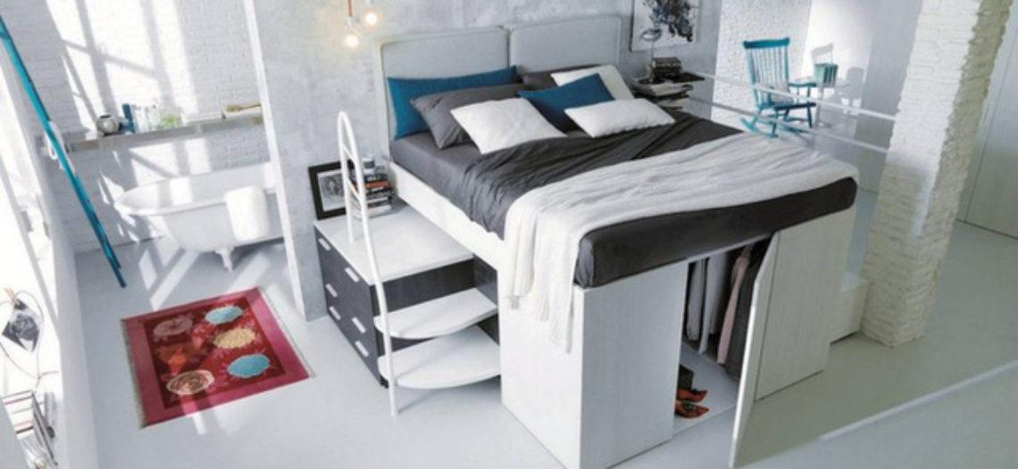 Giường thông minh tích hợp tủ quần áo phù hợp cho mọi phòng ngủ nhỏ