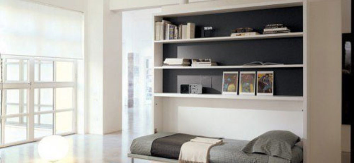 Giường tủ kết hợp – ý tưởng lớn cho phòng ngủ nhỏ