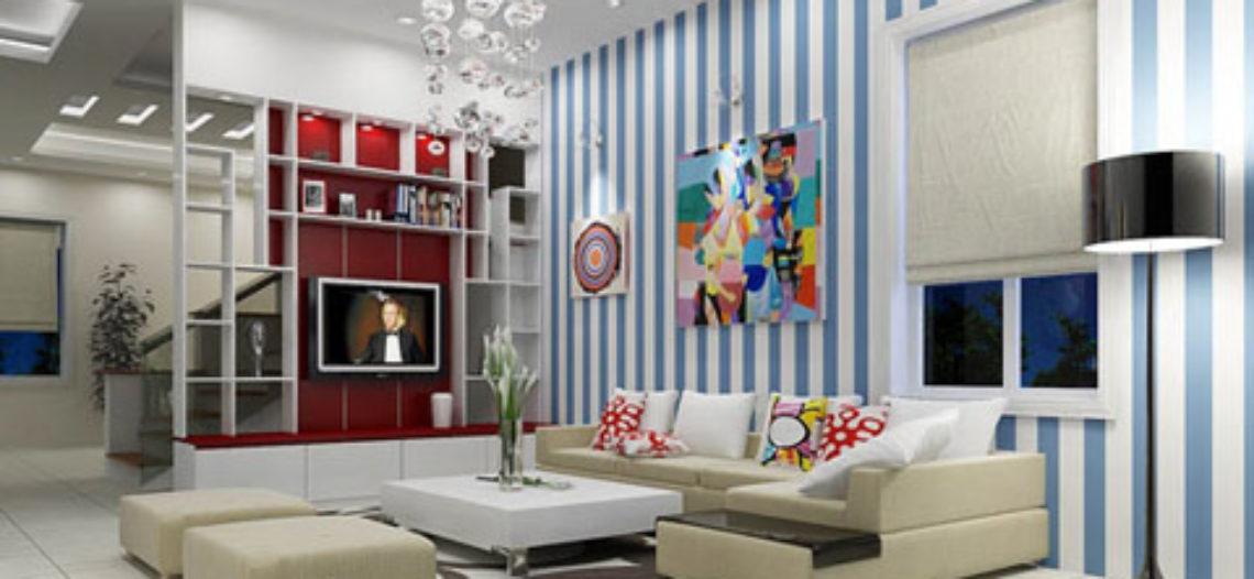 Những họa tiết trang trí cho căn phòng khách ấn tượng