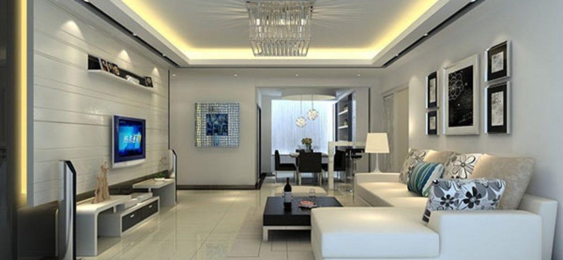 15 mẫu thiết kế phòng khách đẹp cho nhà ống