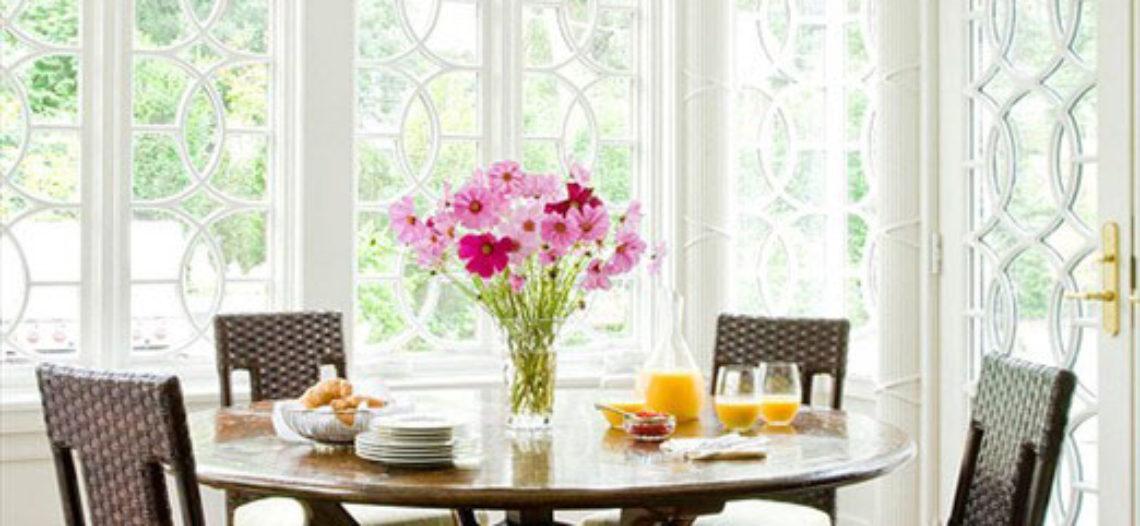 Những cách sắp xếp góc bàn ăn cực xinh