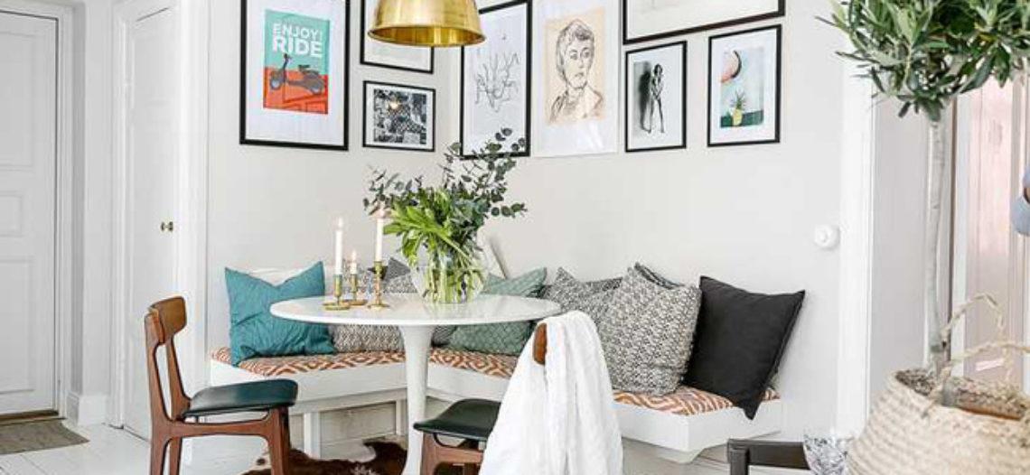 Những mẫu phòng khách đẹp phù hợp với các căn hộ 50m2