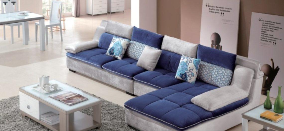 Trang trí với Sofa phòng khách đầy màu sắc