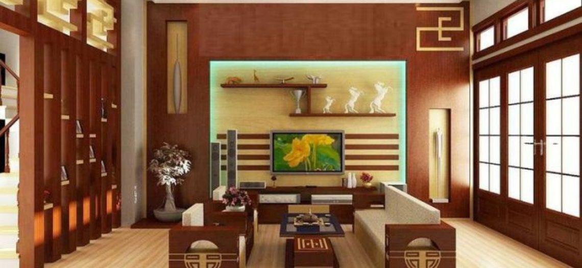 Văn hóa Á Đông trong thiết kế không gian phòng khách