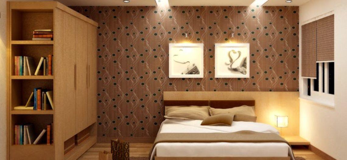 Những mẫu tủ âm tường đẹp cho phòng ngủ