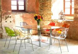 10 bộ bàn ăn hiện đại bằng kính cho căn phòng thêm sang trọng
