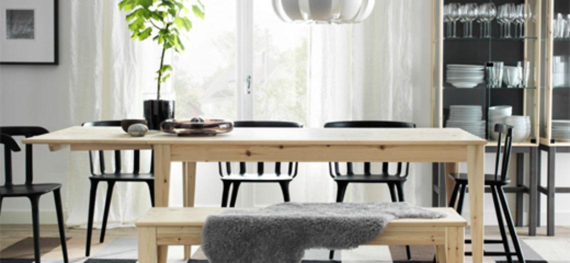 Chọn hình dáng cho bàn ăn thông minh phù hợp với không gian phòng bếp