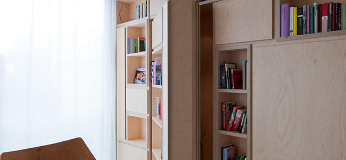 Cánh cửa bí mật- Xu hướng thiết kế của nhiều ngôi nhà hiện đại