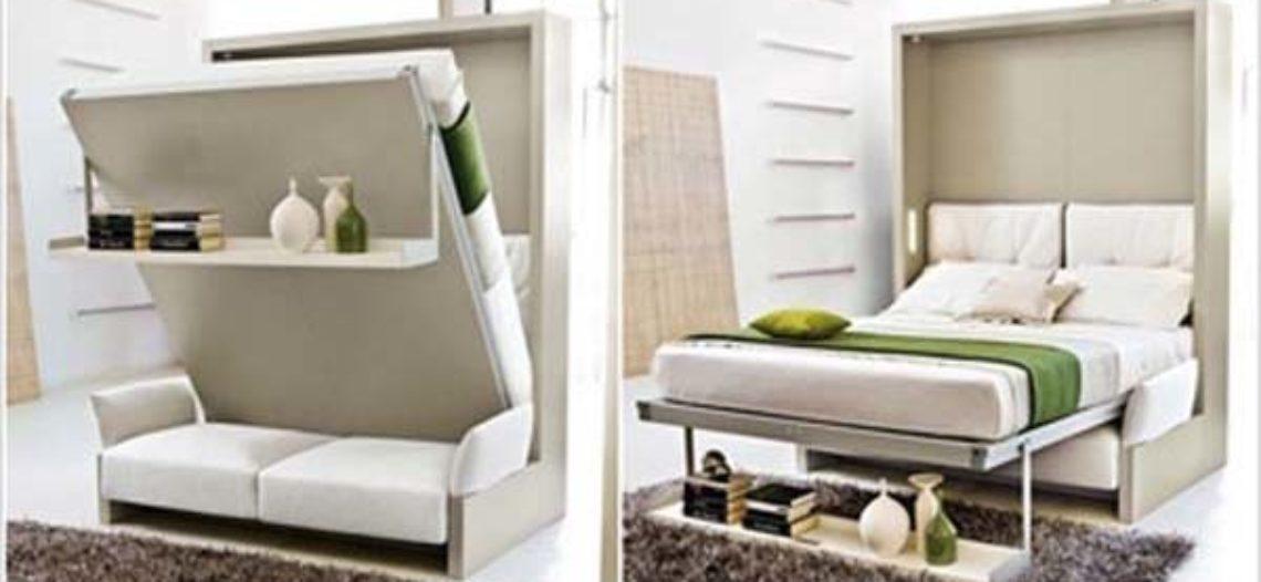 Giường gấp đa năng giải pháp cho không gian hẹp