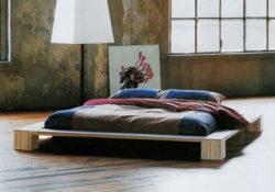 Giường kiểu Nhật – đơn giản mà đầy sang trọng