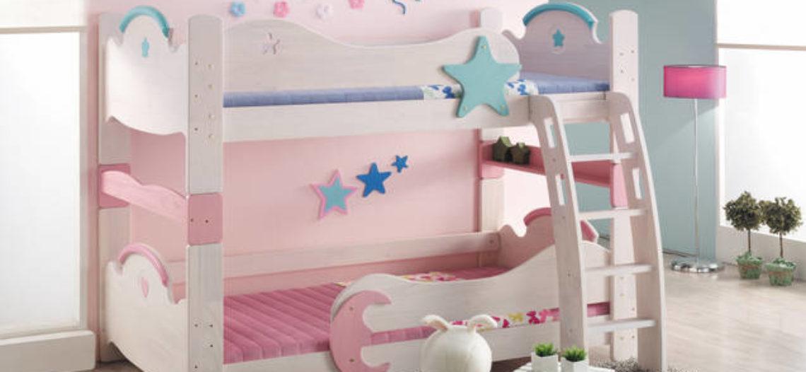 Giường tầng hữu hiệu cho không gian phòng ngủ của bé