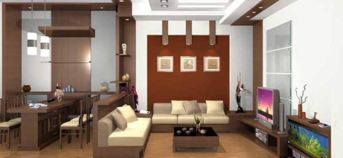 Gợi ý thiết kế phòng khách căn hộ chung cư