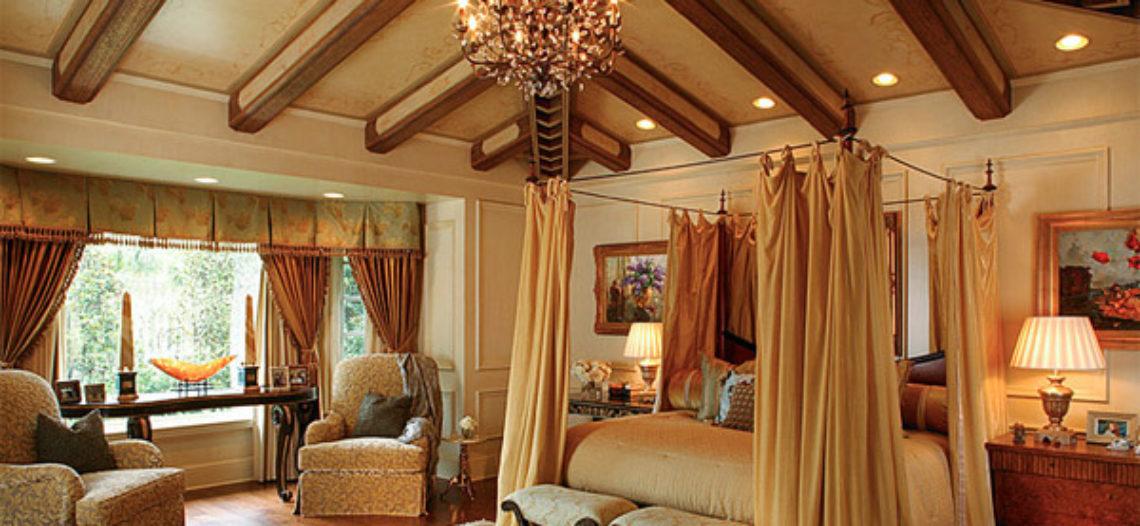 Lãng mạn và ấm cúng cho mùa thu đông với phòng ngủ kiểu Âu