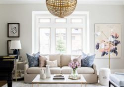 Mẫu đèn trang trí cho không gian phòng khách sang trọng