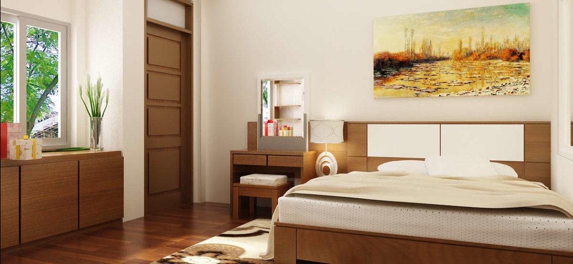 Các mẫu giường gỗ đẹp, hiện đại cho phòng ngủ của bạn