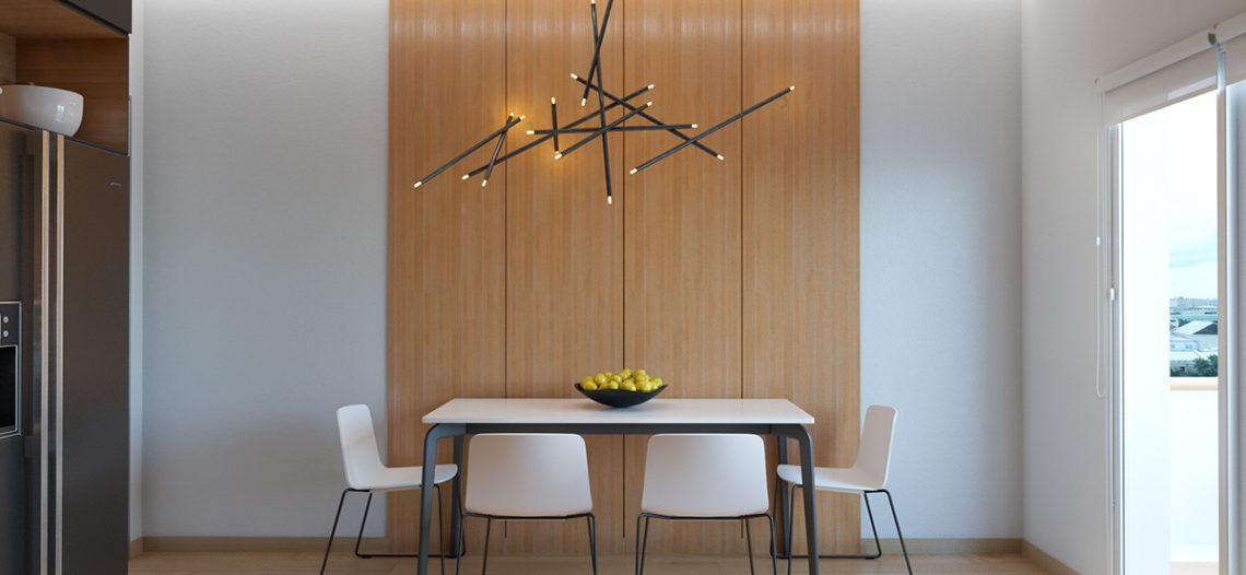 Bàn ăn gia đình – nội thất không thể thiếu trong căn nhà của bạn