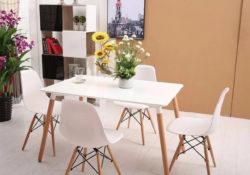 Những bộ bàn ăn hiện đại có giá dưới 6 triệu đồng