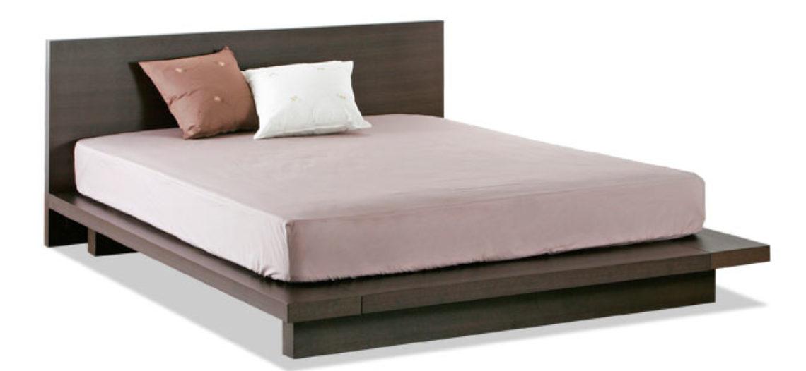 Những mẫu giường gỗ công nghiệp đẹp năm 2017