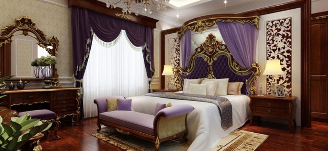 16 mẫu nội thất phòng ngủ cổ điển sang trọng