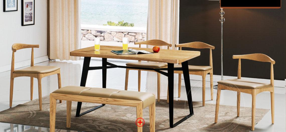 Phát sốt với những mẫu bàn ăn đẹp bằng gỗ