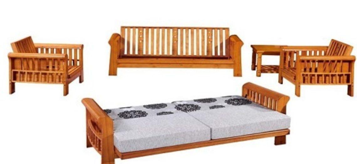 Sofa giường gỗ sự lựa chọn thông minh cho ngôi nhà bạn
