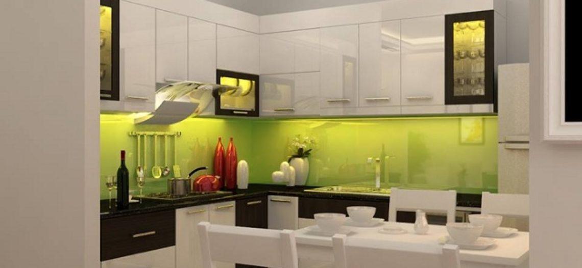 Thiết kế nội thất bếp cho căn hộ nhỏ