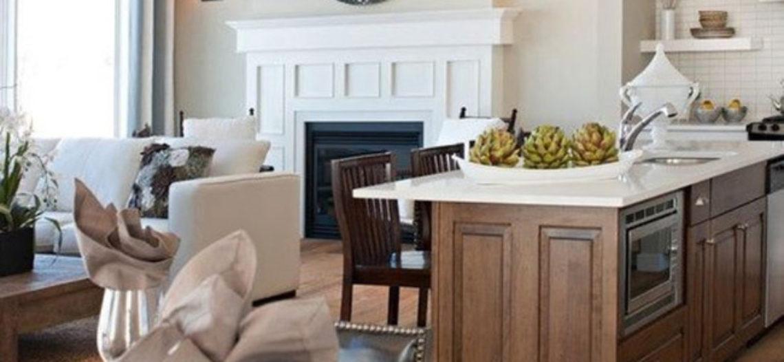 Thiết kế nội thất phòng bếp không gian mở- Nhìn là muốn học