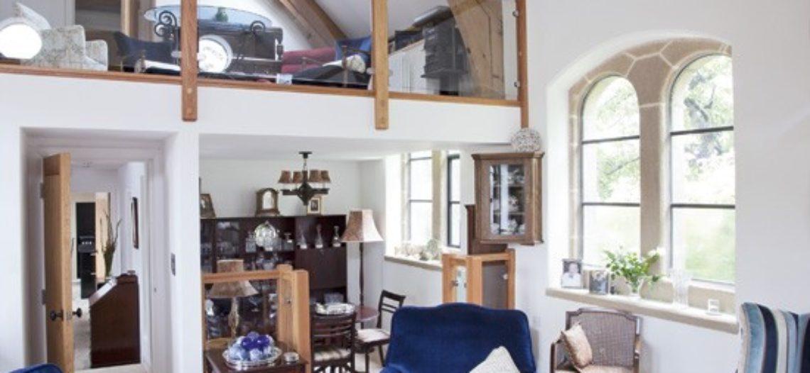 Thiết kế phòng khách với không gian mở đầy ấn tượng