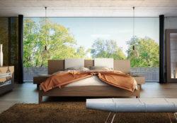 Thiết kế phòng ngủ sang trọng theo phong cách Nhật Bản
