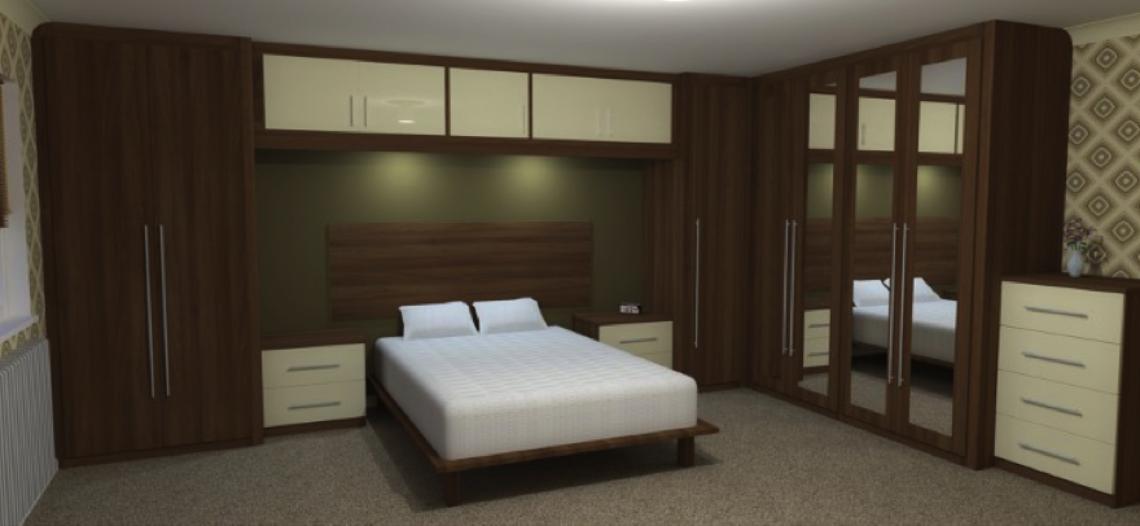 Tủ phòng ngủ đa năng đẹp gọn gàng