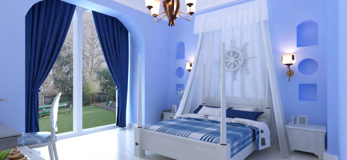 Cách bố trí phòng ngủ cho ngày hè dịu mát