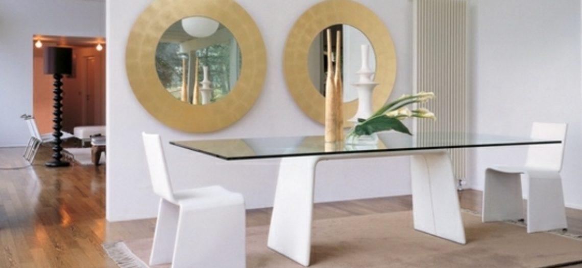 Chọn lựa bàn ăn bằng kính làm sao cho phù hợp?