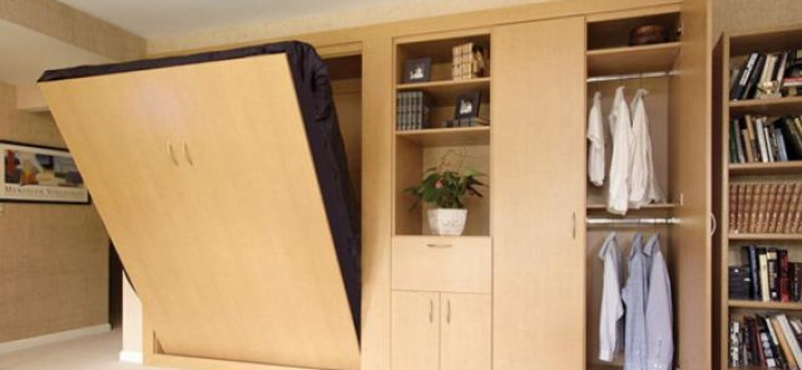 Giường đa năng- nội thất tiện nghi cho phòng ngủ nhỏ
