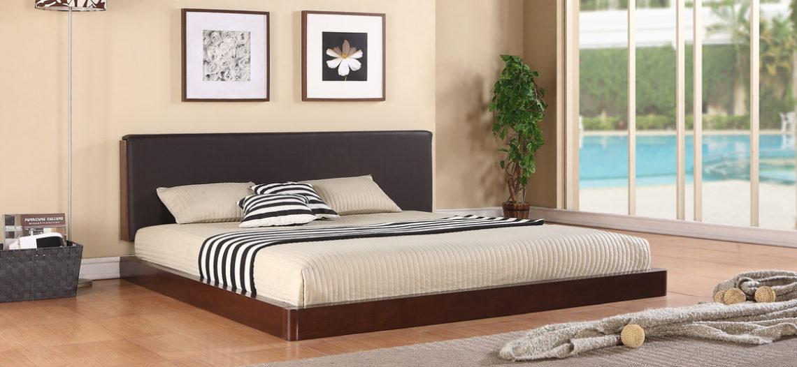 Giường ngủ cao cấp gỗ tự nhiên thể hiện đẳng cấp của gia chủ