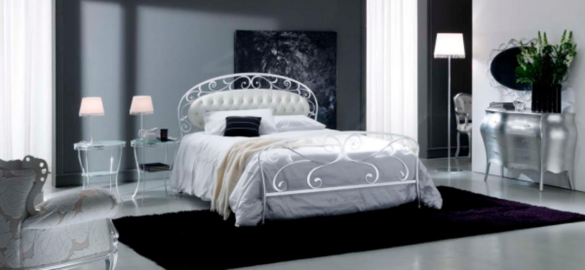 Giường ngủ sắt tinh tế và nghệ thuật